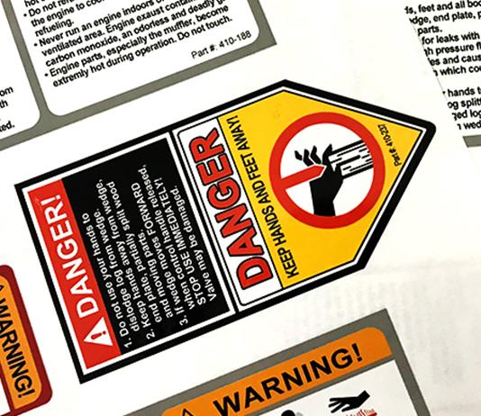 五金工具警示不干胶4